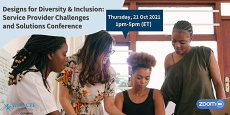 WEC's Designs for Diversity & Inclusion Conference tickets