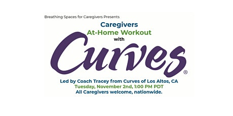 Caregivers At-Home Workout with Curves of Los Altos, CA tickets