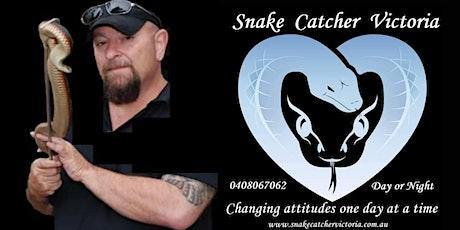 Online Snake Awareness Workshop with Snake Catcher Victoria tickets