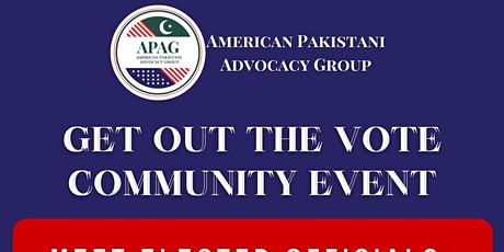 APAG Get out the Vote Community Event tickets