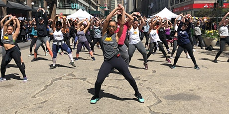 Sweat34: Free Outdoor Fitness Class with Salsa Classes NYC tickets