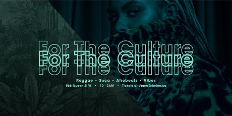 For The Culture | October 16 2021 tickets