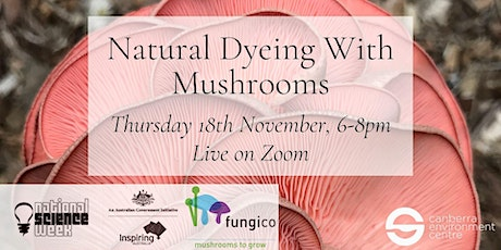 Natural Dyeing With Mushrooms tickets