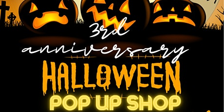 Bkrowned 3rd Year anniversary Halloween Pop Up Shop tickets