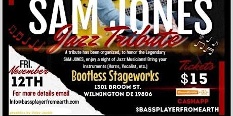 Sam Jones Jazz Tribute hosted by Richard Hill Jr. tickets