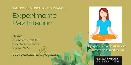 Experimente Yoga a traves de la meditacion Sahaja tickets