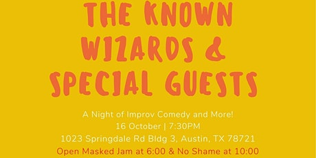 Merlin Works Presents The Known Wizards & Special Guests tickets