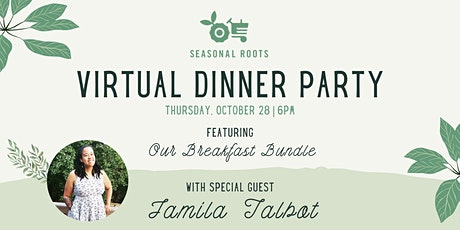 """""""Breakfast for Brinner"""" Virtual Dinner Party tickets"""