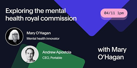 Exploring the mental health royal commission with Mary O'Hagan tickets