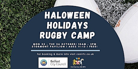 Halloween Holidays Rugby Camp tickets