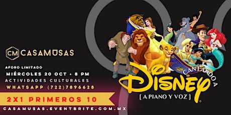 Cantando a Disney boletos