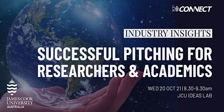 Industry insights: pitch success for researchers & academics tickets