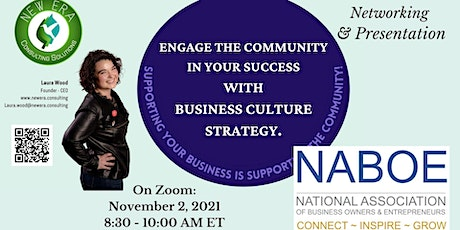 NABOE INSPIRE with Daya Naef: Business Culture Strategy! Tickets