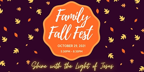 Family Fall Fest - Willowdale Baptist Church tickets