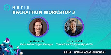 Hackathon Workshop on  Cryptocurrency Marketing  + Q&A tickets