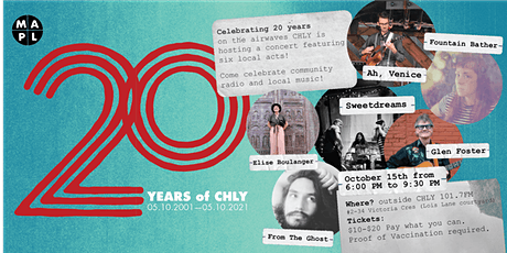 CHLY 20th Anniversary Concert tickets
