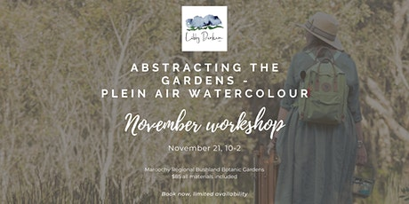 Abstracting the Gardens - Plein Air Watercolour Workshop tickets