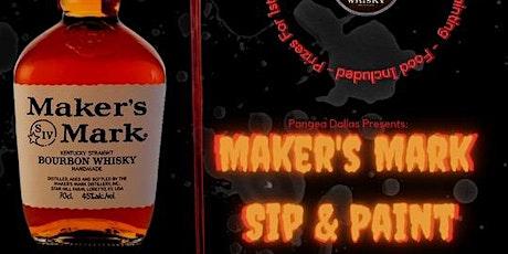 Pangea Restaurant Presents: Makers Mark Paint & Sip tickets