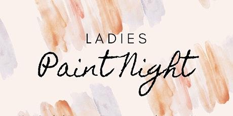 Womens Paint Night tickets
