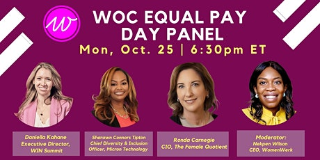 WOC Equal Pay Day tickets