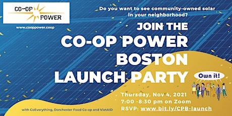 Co-op Power Boston Launch Party tickets