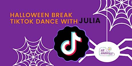 TikTok dance -kids/5-8 years old / 9-12 years old/ Halloween Break tickets
