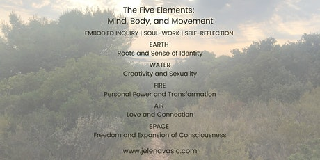 The Five Elements: Mind, Body, and Movement tickets