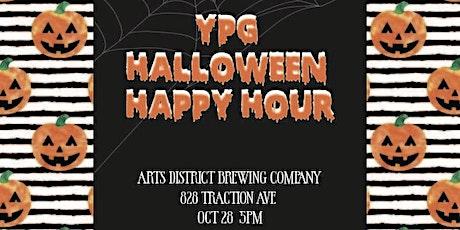 YPG Halloween Happy Hour tickets