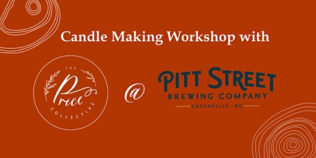 Candle Making Workshop at Pitt Street Brewing tickets