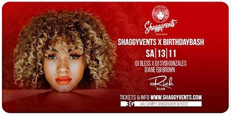 SHAGGYVENTS X BIRTHDAYBASH Tickets