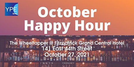 YPE NYC October Happy Hour tickets