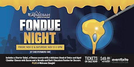 Fondue Night (Chestermere) - Saturday tickets