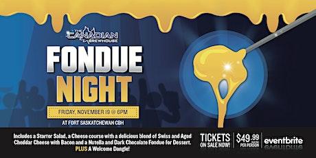 Fondue Night (Fort Saskatchewan) tickets