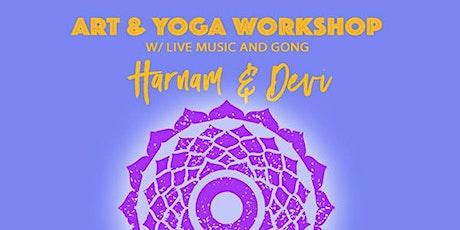 Art & Yoga Workshop: Creating a Personal Mandala with Harnam tickets