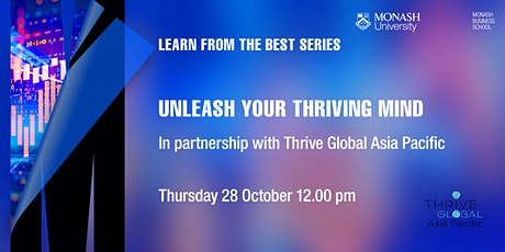 Unleash your Thriving Mind tickets