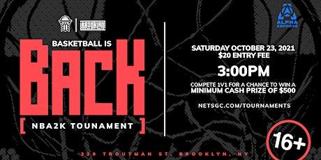 NBA 2K Tournament: NetsGC x BrookLAN tickets