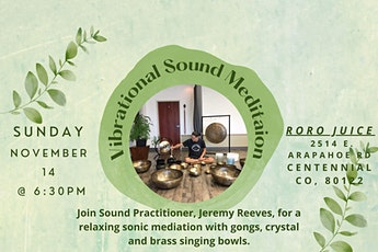 Vibrational Sound Meditation tickets
