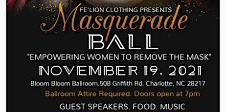 Fe'Lion Clothing, LLC Presents 1st Annual Masquerade Ball tickets