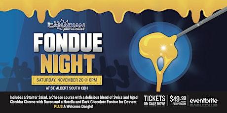 Fondue Night (St. Albert - South) tickets