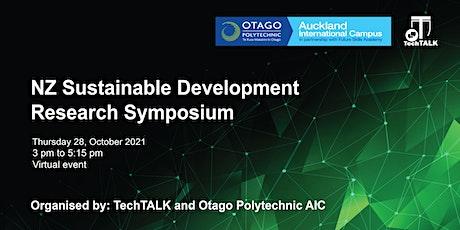 Research Symposium #1 - NZ Sustainable Development Tickets