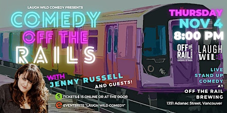 Comedy Off the Rails tickets