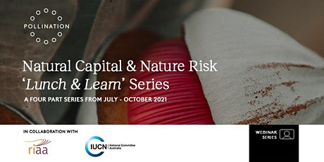 Natural Capital & Nature Risk 'Lunch and Learn' Series tickets