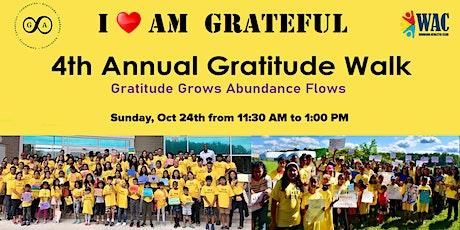 4th Annual Gratitude Walk tickets