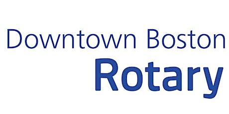 November Downtown Boston Rotary Speaker Meeting tickets