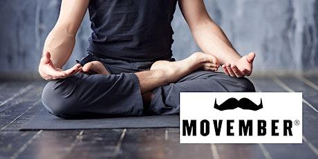 YOMO - Yoga 4 Movember:  Move for Men's Health! tickets