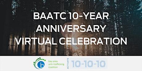 10 Year Anniversary Virtual Celebration tickets
