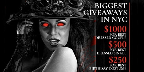 Beautiful Nightmare: NYC's Biggest Halloween Party $1000 Giveaway tickets