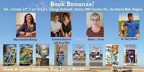 Book Bonanza  in Regina!  5 Authors, 8 Books tickets