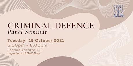 Criminal Defence Seminar tickets