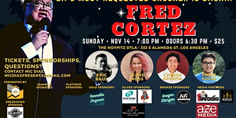 FRED CORTEZ & FRIENDS LIVE IN CONCERT AT THE NOYPITZ DTLA tickets